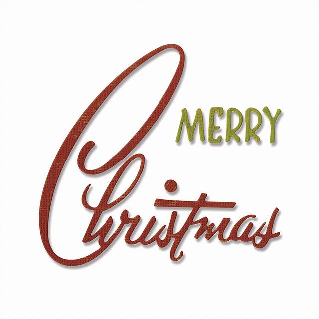 Retro Merry Christmas