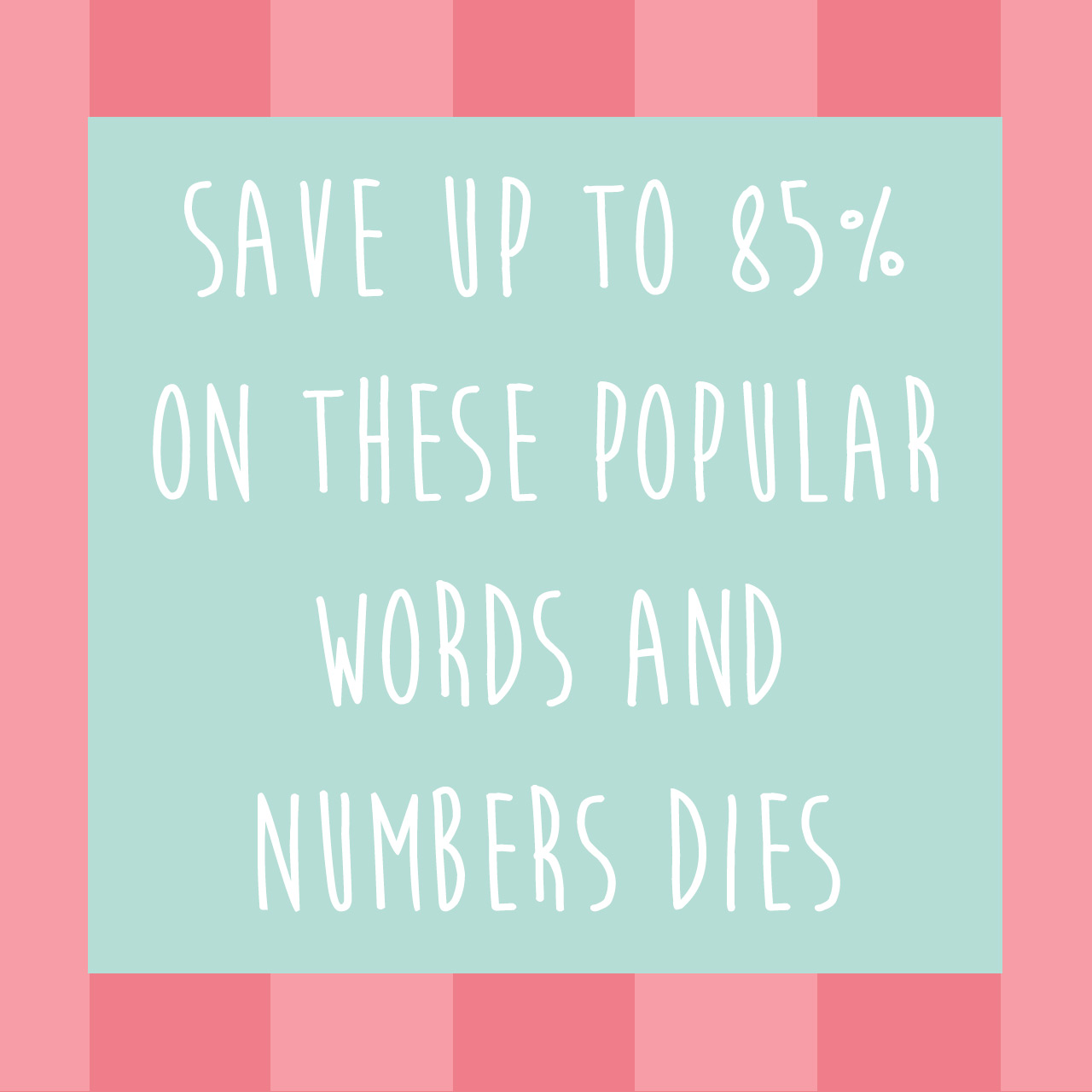 words-and-numbers-promo -  to 75% off