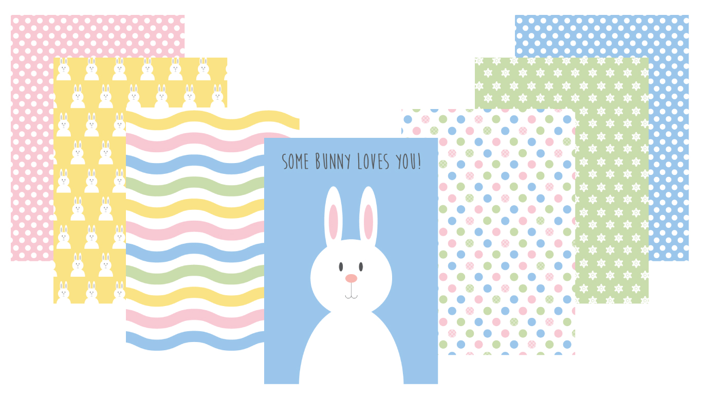 free patterns for easter cards