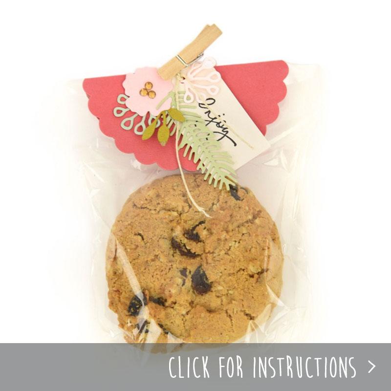 Embellished Cookie Tag