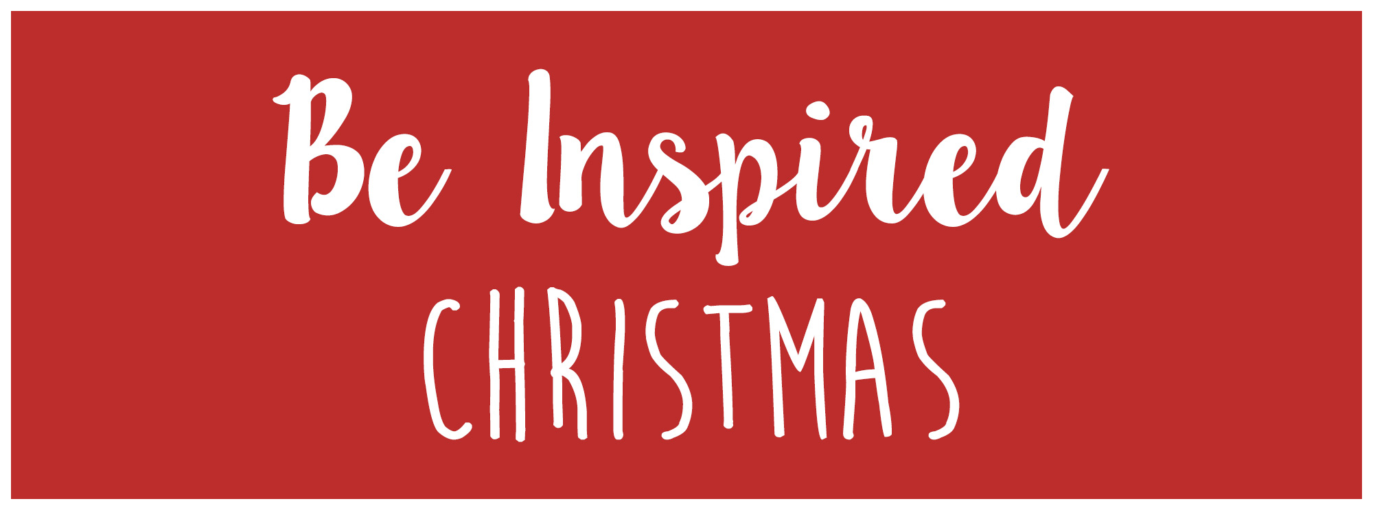 Be Inspired Christmas