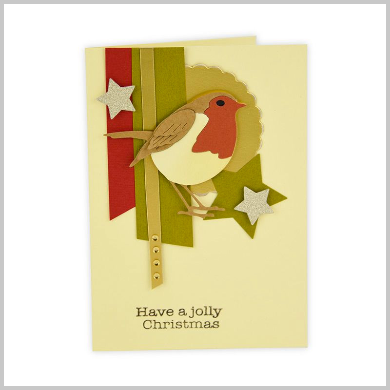 Little Robin Card
