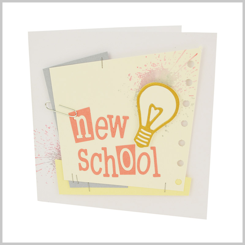 New School Card