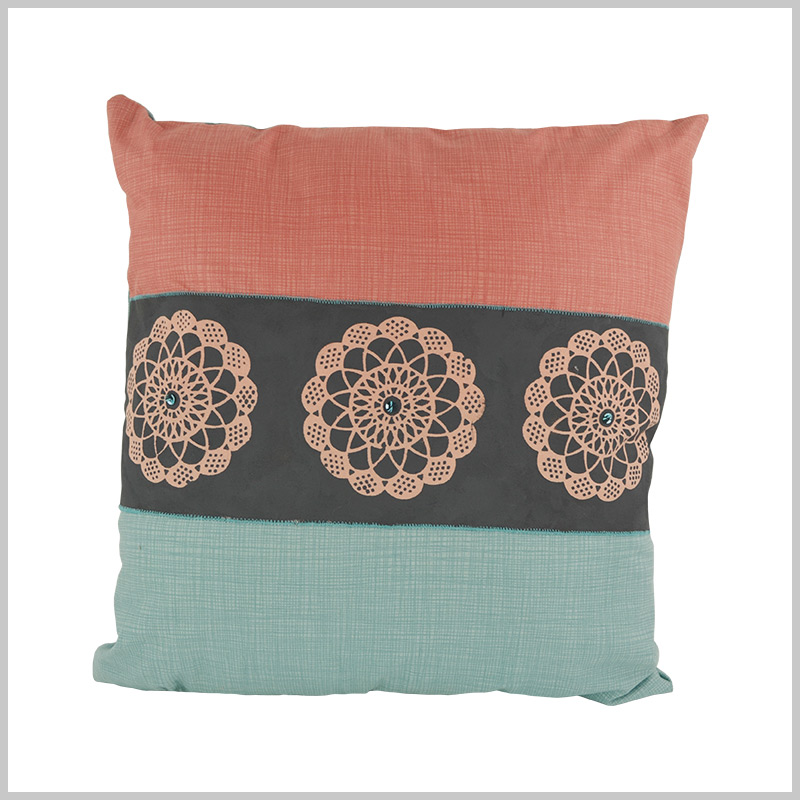 Stencilled Cushion