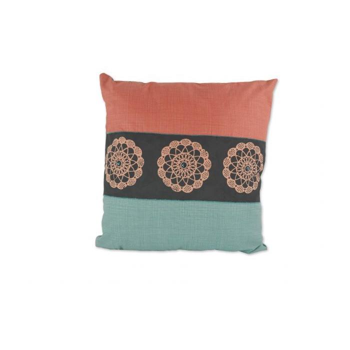 Stencilled Cushion