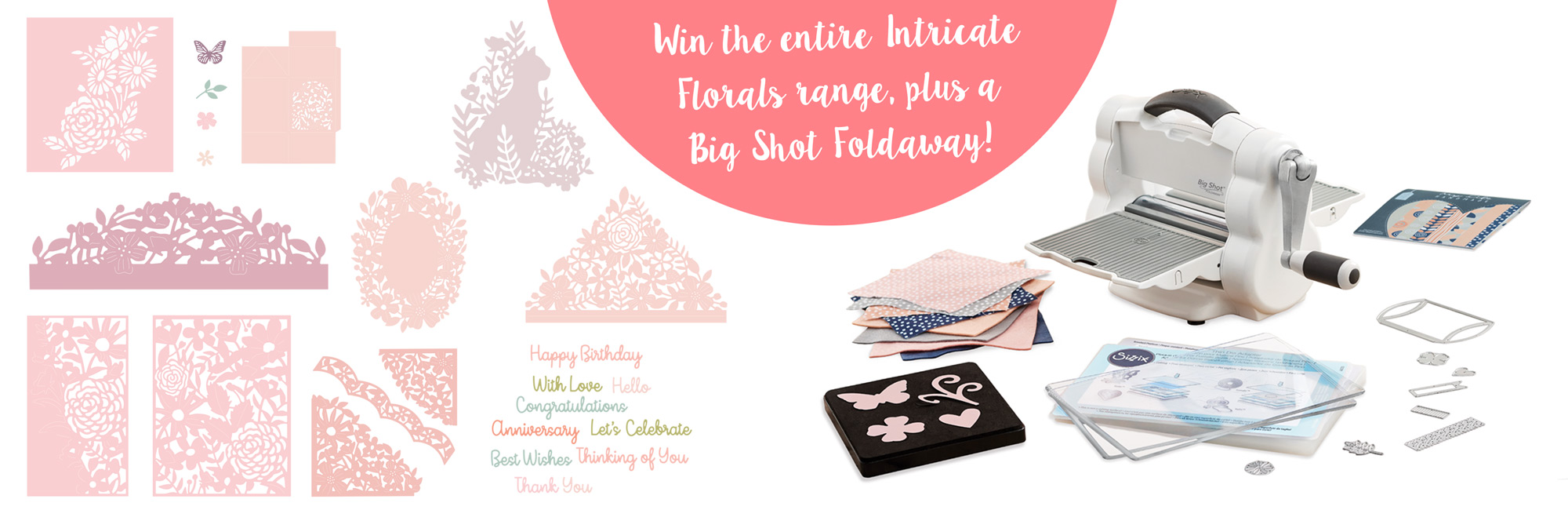 Intricate Floral Giveaway