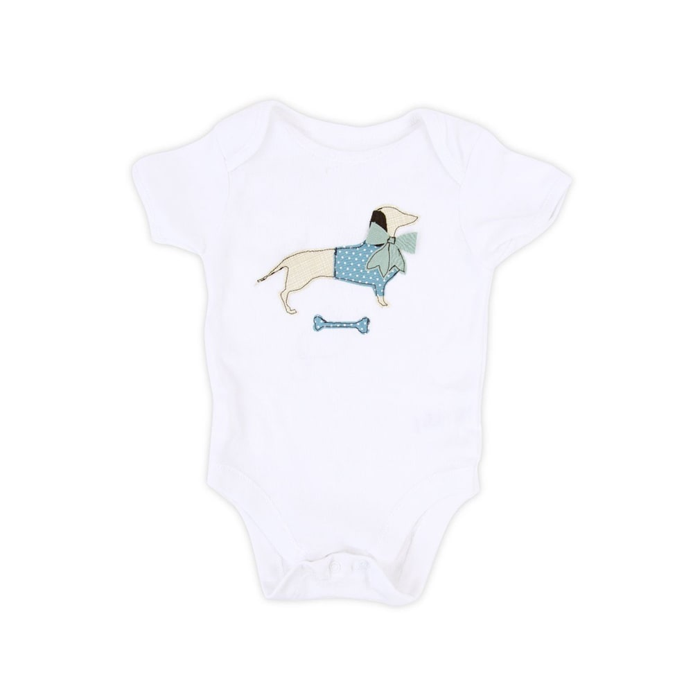 Dachshund Baby Grow 2