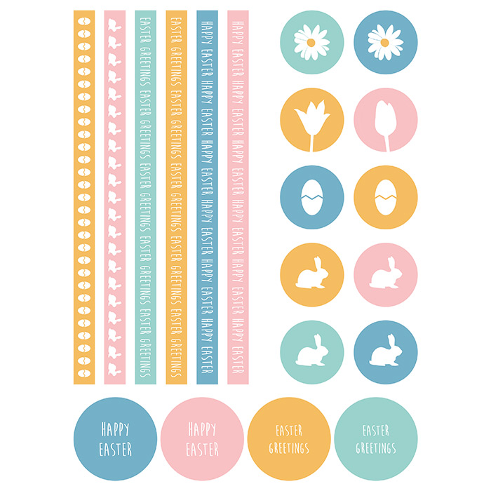 Cute Easter Papers