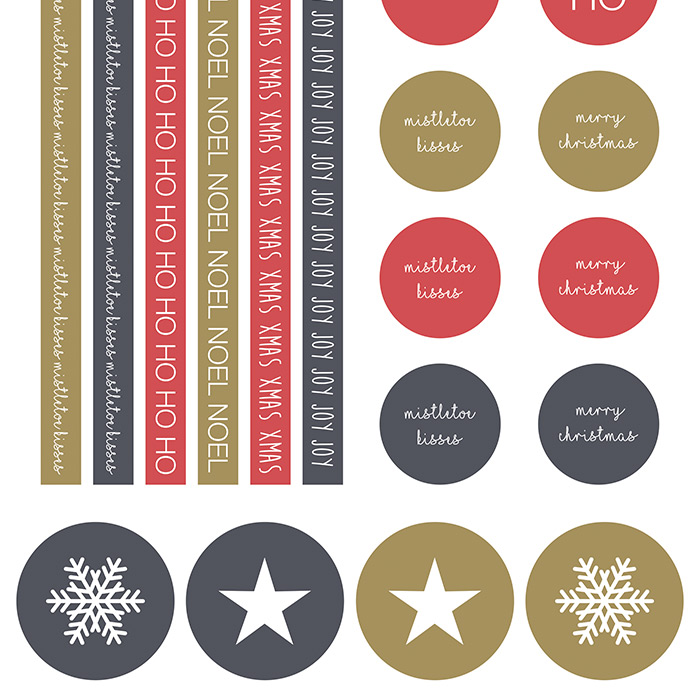 Modern Christmas Papers