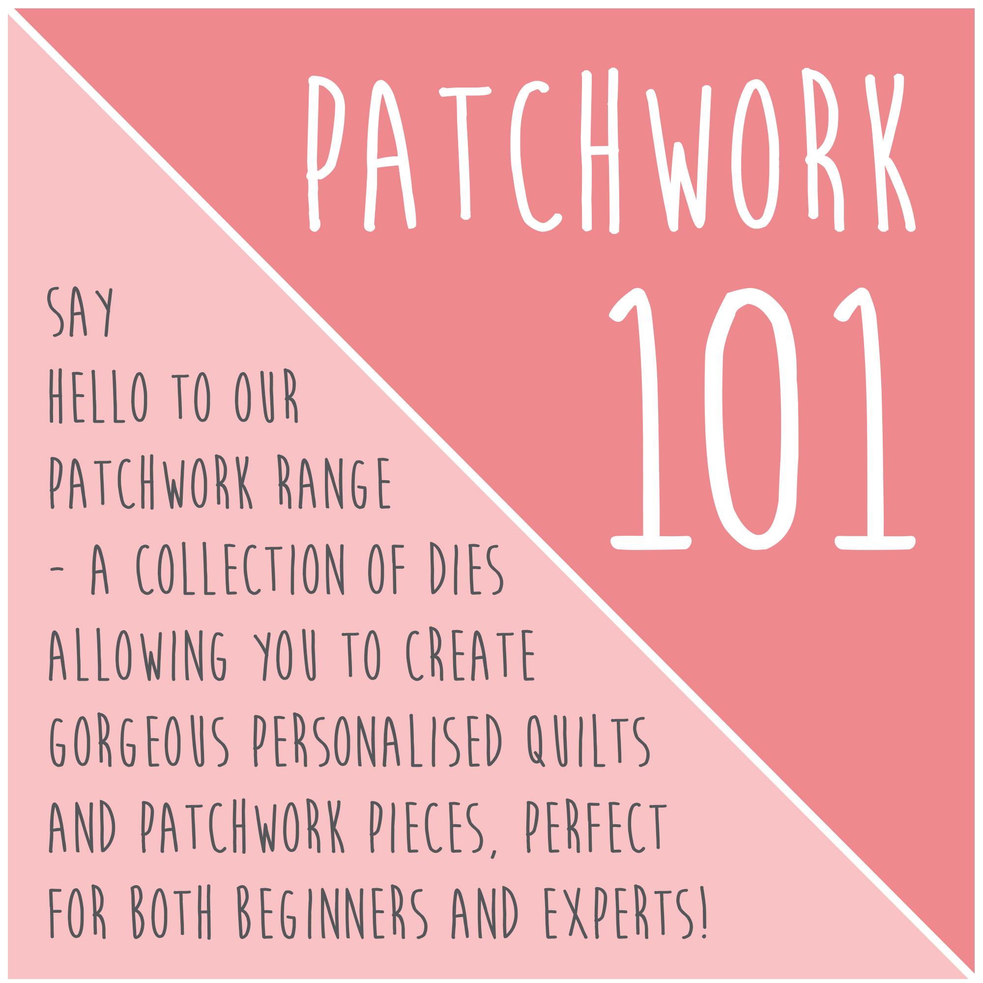 Patchwork 101 - Sizzix Quilting Dies and Inspiration