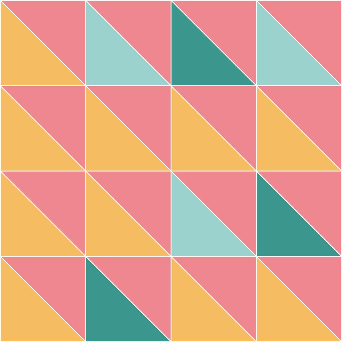 Half Square Triangle Study