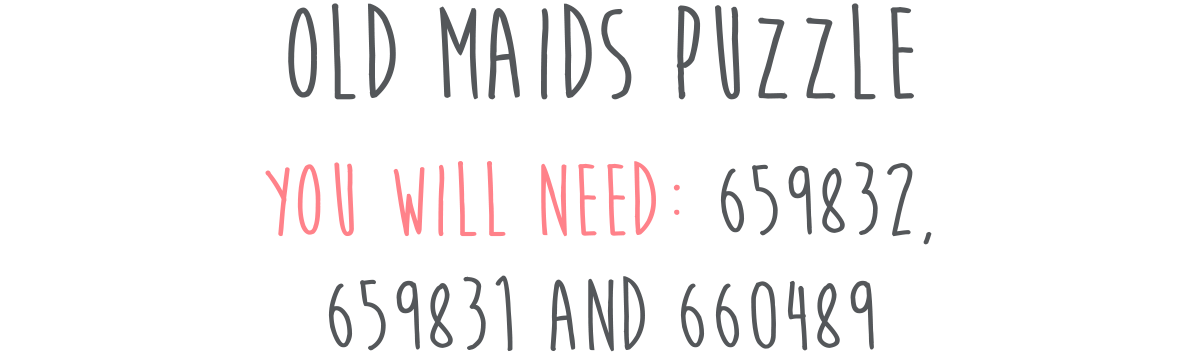Old Maids Puzzle