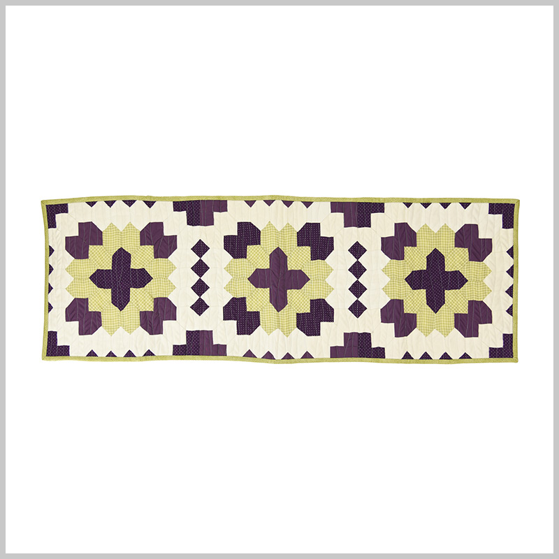 Honeycombs and Squares Table Runner