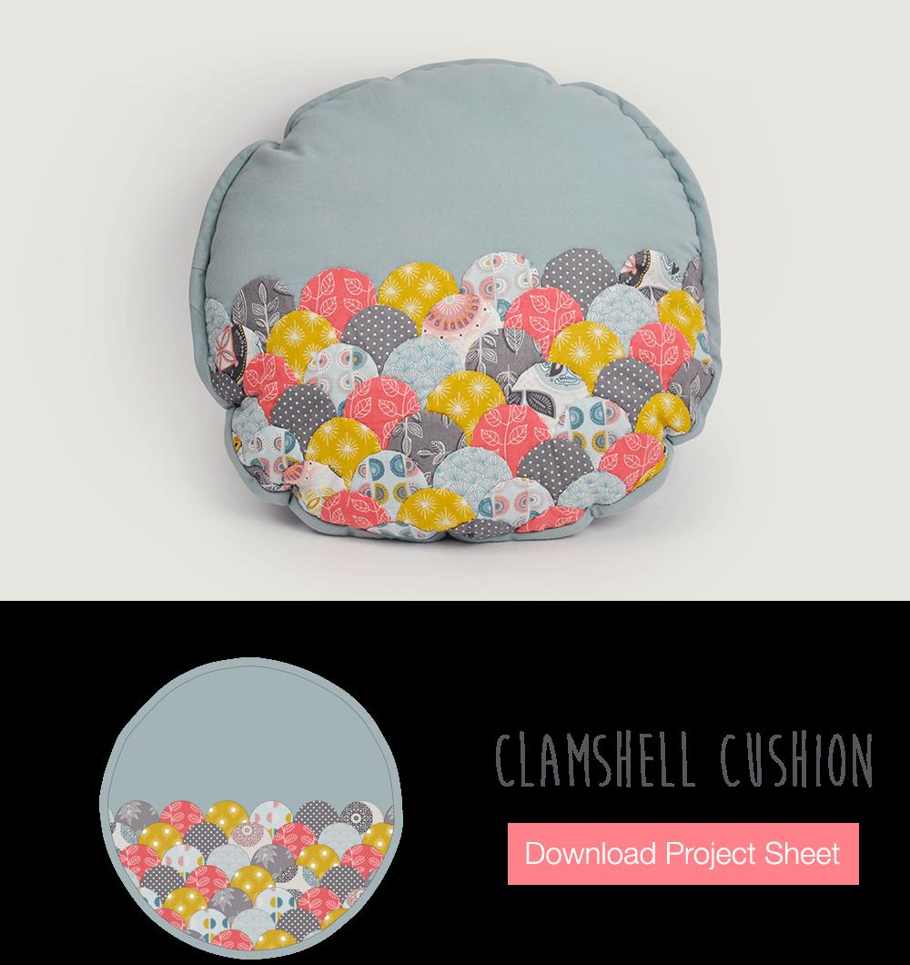 Clamshell Cushion