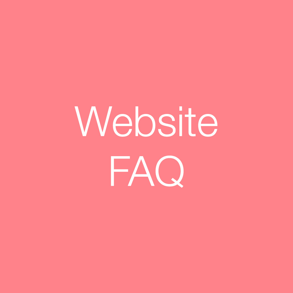 Website FAQ