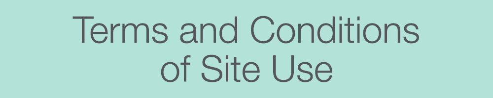 Terms and Conditions of Site Use