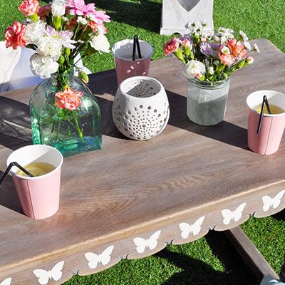 Boho Garden Party Table
