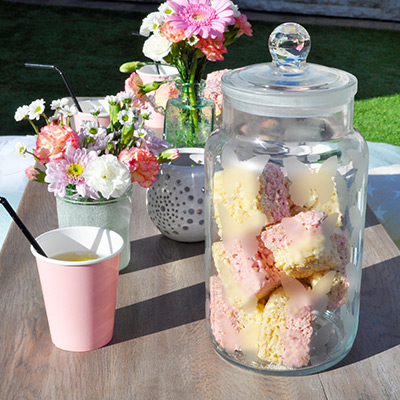 Frosted Treat Jar