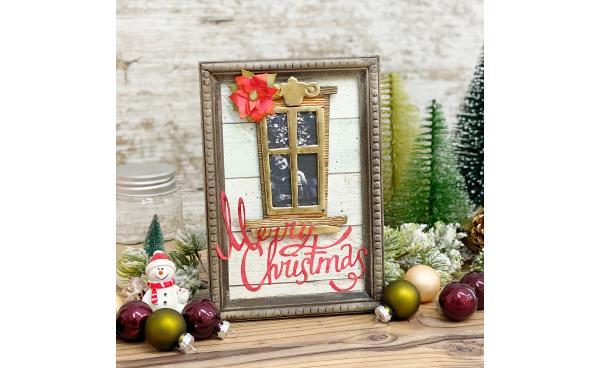 Christmas Window frame
