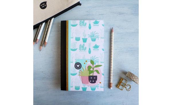 DIY Hanging Planter Notebook
