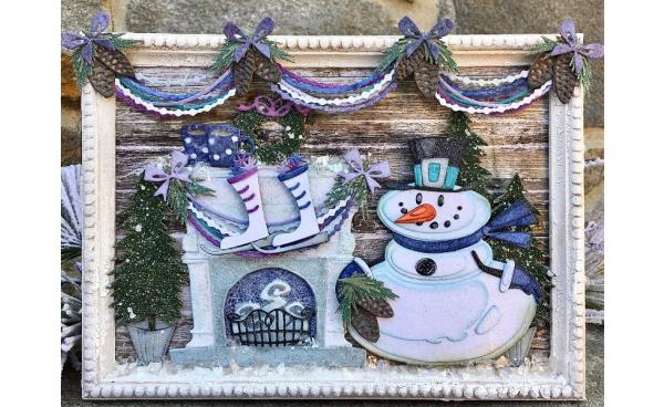 Deck the Halls Home Decor Piece! - by Plays Well With Paper