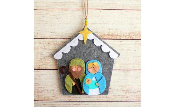 Felt Sweet Nativity for Christmas