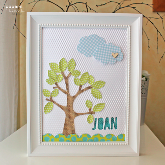 Baby frame - Tutorial | sizzix | Daily inspiration from our bloggers