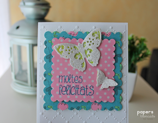 A Quick And Easy Birthday Card Sizzix Daily Inspiration From Our