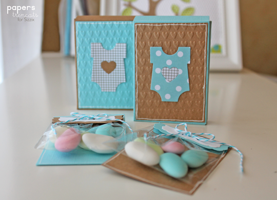baby shower favours sizzix daily inspiration from our bloggers