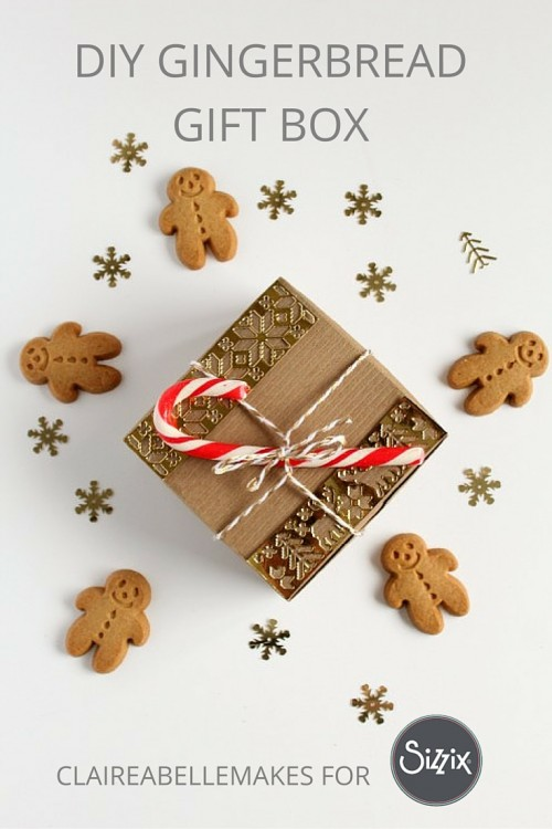 Gingerbread-Gift-Box-DIY-Sizzix