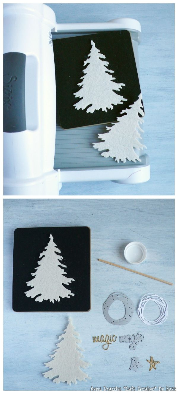 Tutorial-Sizzix-Christmas-Tree-Felt-DieCutting-by Anna Drai cafecreativo