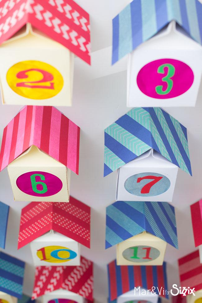 Paper Houses Adventar Calendar