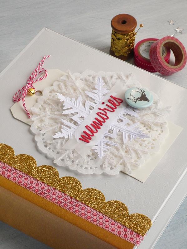 christmas-mini-album-december-winter-snowflake-scrapbooking-dies-sizzix-big shot-by AnnaDrai cafecreativo