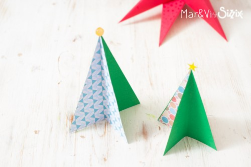 3d Paper Christmas Tree.Easy 3d Paper Christmas Tree Cscianna Daily Inspiration
