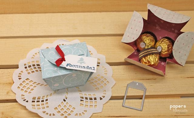 Christmas dinner gift box