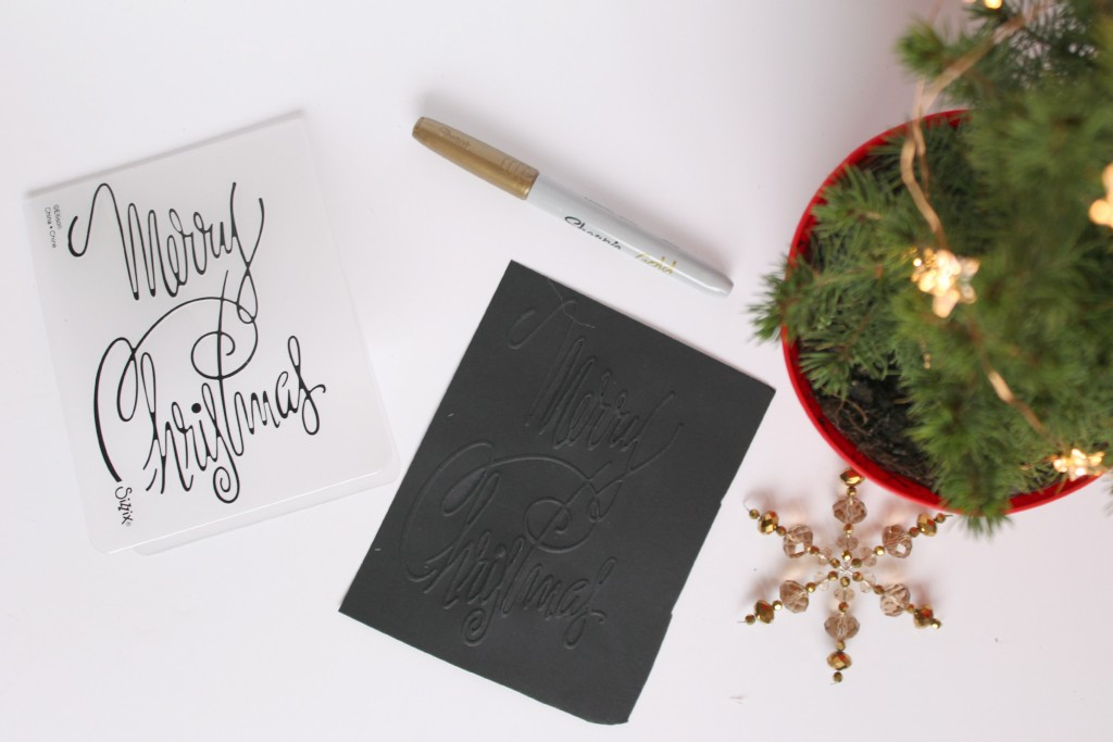 Gold-Embossed-Calligraphy-Card-