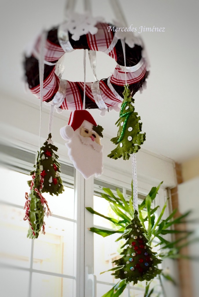 My beautiful Xmas Mobiles waiting for Holidays