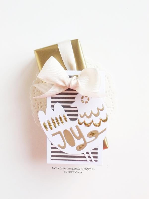 Joy gift package 1 {Ghirlanda di Popcorn}