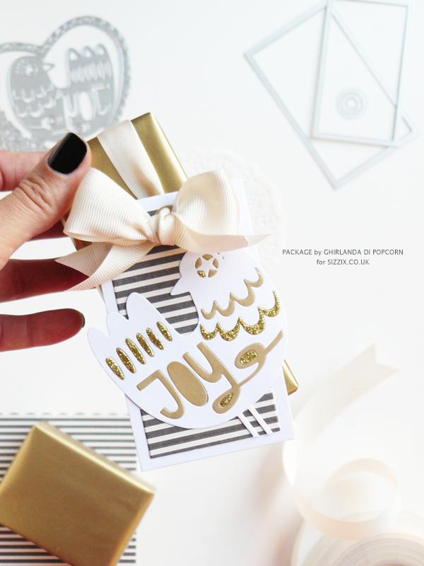 Joy gift package 4 {Ghirlanda di Popcorn}