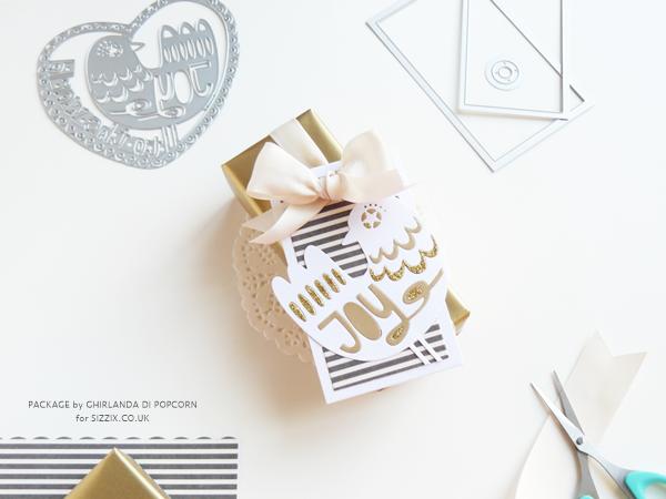 Joy gift package 6 {Ghirlanda di Popcorn}