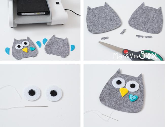 Felt Owl tutorial