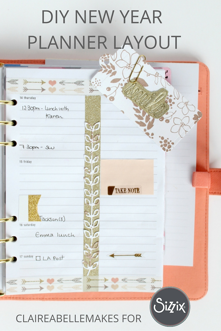 new year planner layout cwilson daily inspiration from our bloggers