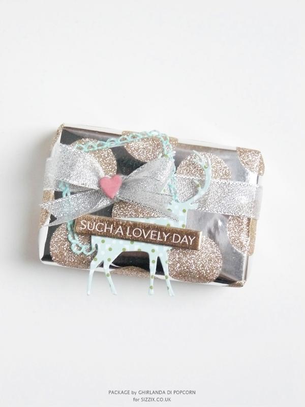 Festive gift package 1 {Ghirlanda di Popcorn}
