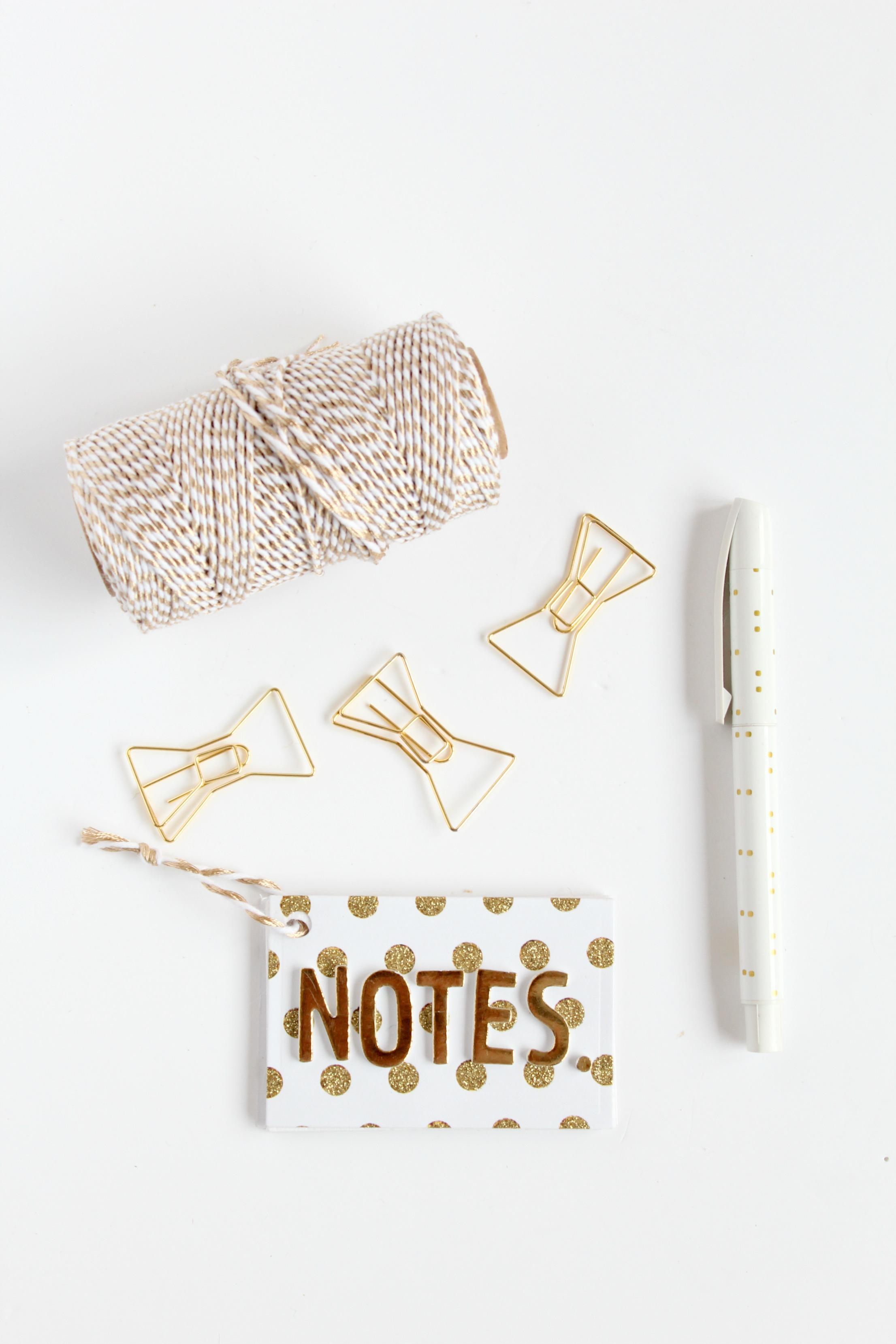 Mini-Gold-Notebook
