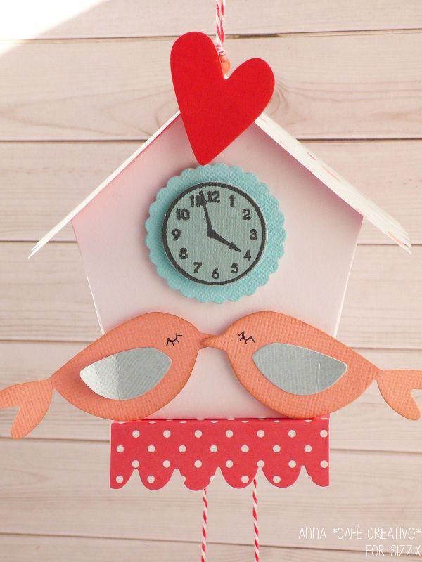 Valentine-day-paper-cuckoo-clock-birdhouse-sizzix-big-shot-plus-dies
