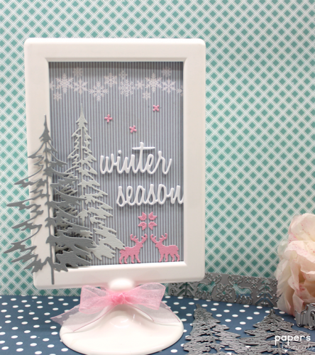 Winter season frame