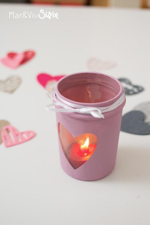 Valentine Candle Holder