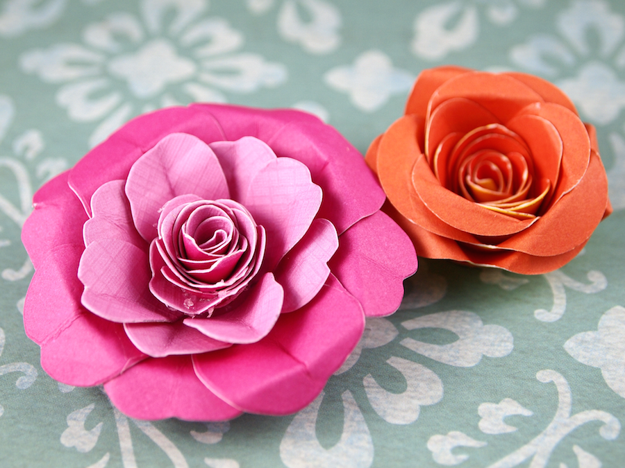 How to make the nicest paper flowers quim daz daily inspiration if you want to know how i made this beautiful paper flowers you only have to watch the video mightylinksfo