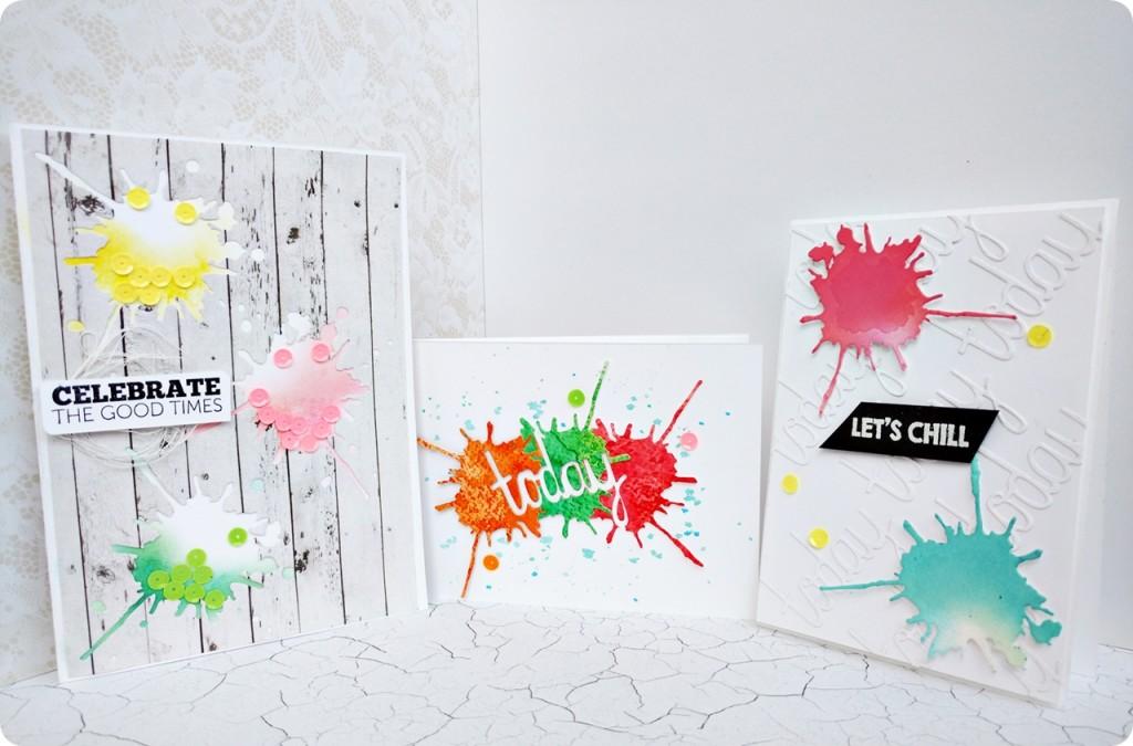 colour splash cards