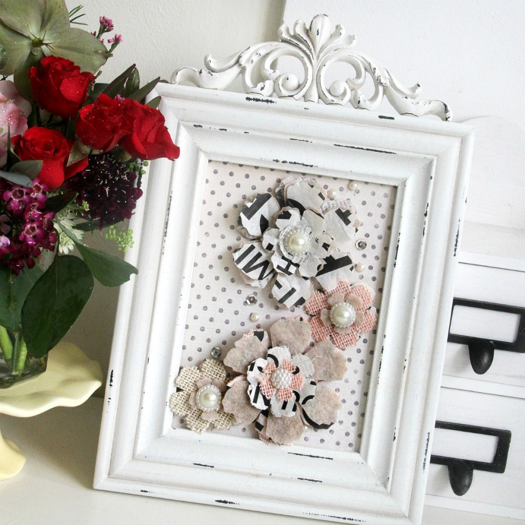 Emeline - Sizzix Tattered Flowers